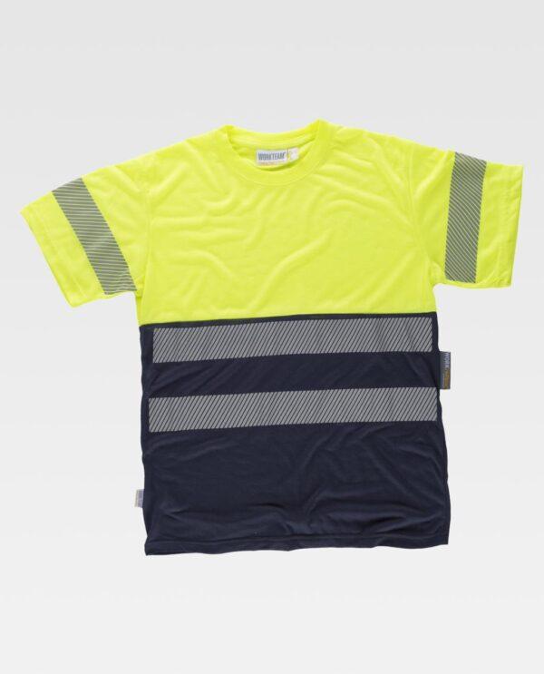 Camiseta Alta visibilidad WORK TEAM C6040