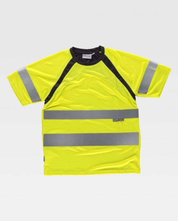Camiseta Alta visibilidad WORK TEAM C2941
