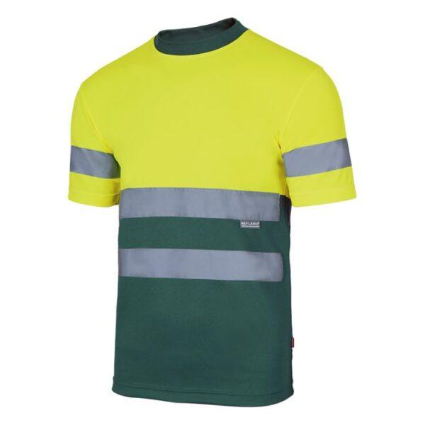 Camiseta Alta visibilidad VELILLA 305506